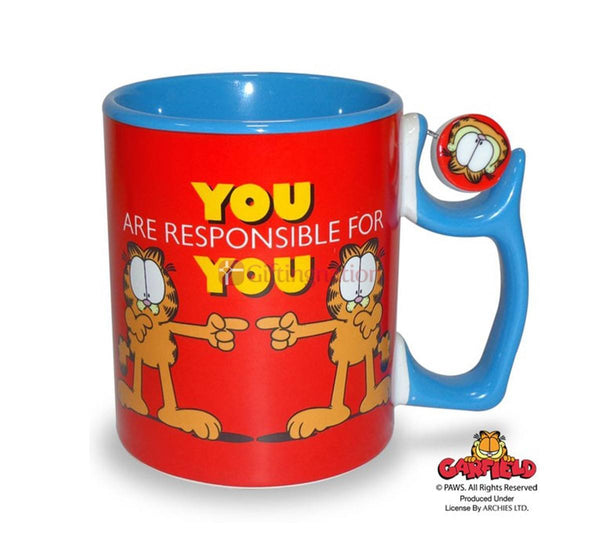 Garfield Coffee Mug You Are Responsible For You - Giftingnation