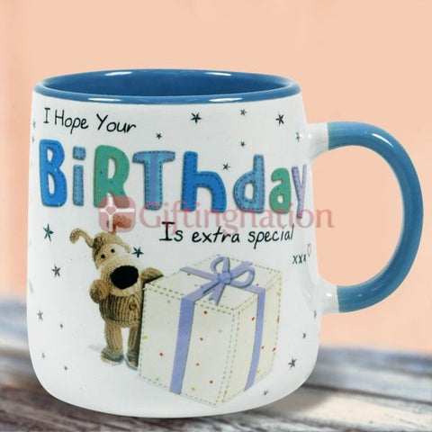 Happy Birthday Gift Trendy Boofle Mug - Giftingnation