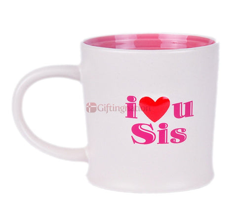 I Love You Sister Coffee Mug - Giftingnation