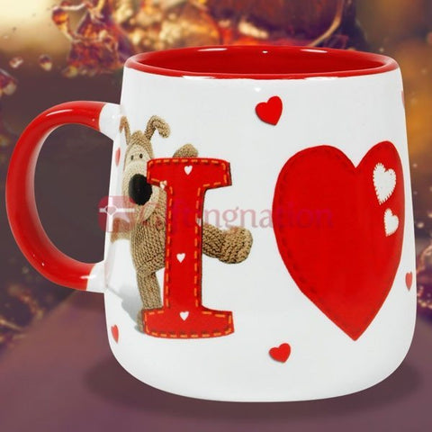 Valentine Love Gift I Heart You Boofle Mug - Giftingnation