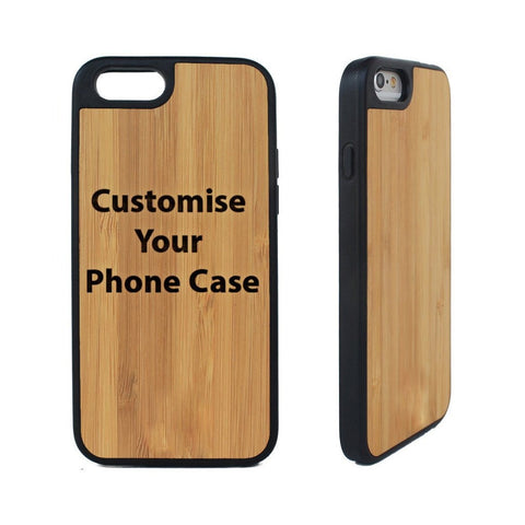 Wooden Engraved I Phone 6 Phone Cover