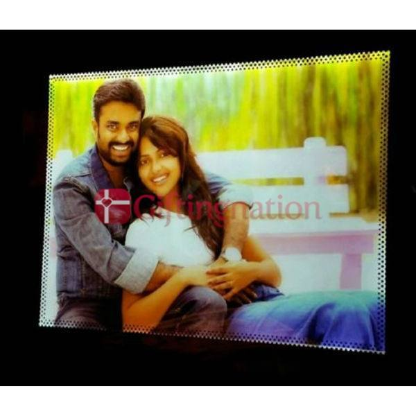 Personalised Photo Frame LED A4 Size - Giftingnation