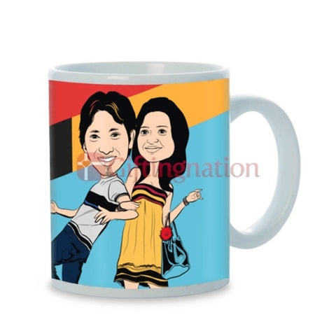 Personalised Photo Mug You're in my Thoughts - Giftingnation - 1