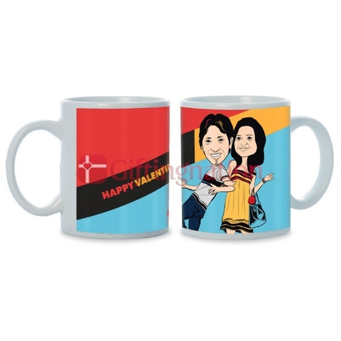 Personalised Photo Mug You're in my Thoughts - Giftingnation - 2