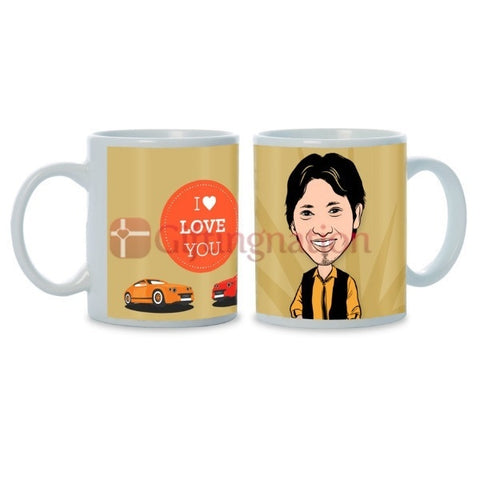 Personalised Photo Mug You're My Thought - Giftingnation - 2