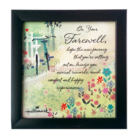 Farewell Gift Wall Art - Giftingnation