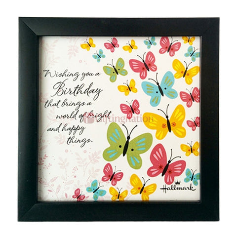 Happy Birthday Gift Quotation Wall Art - Giftingnation