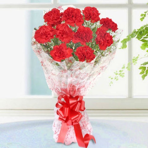 Red Blossoms Bouquet - Giftingnation