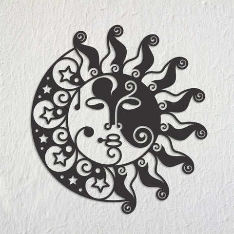 Sunmoon Metal Art Mural