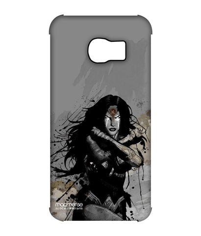 Sketched Wonder Woman Pro Case for Samsung S6 Edge - Giftingnation