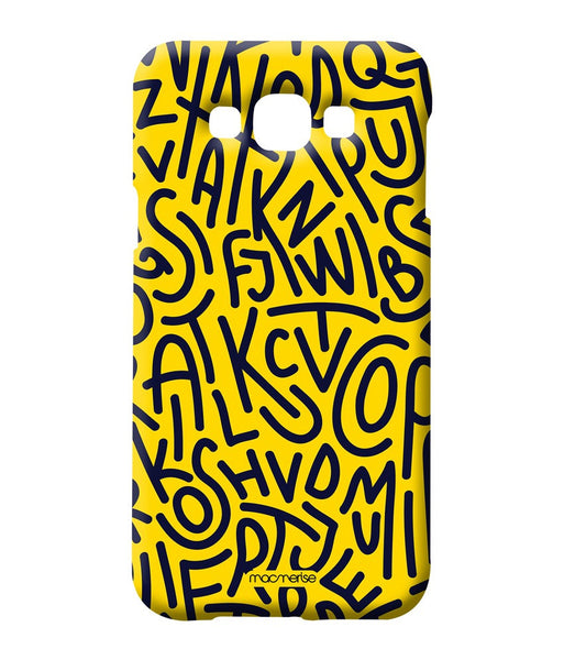 Alphabet Mashup Sublime Case for Samsung A8 - Giftingnation