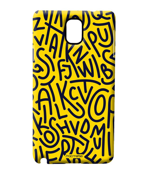Alphabet Mashup Sublime Case for Samsung Note 3 - Giftingnation