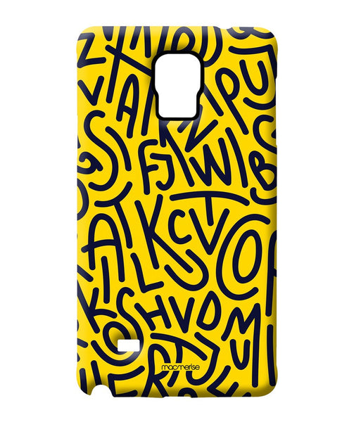 Alphabet Mashup Sublime Case for Samsung Note 4 - Giftingnation