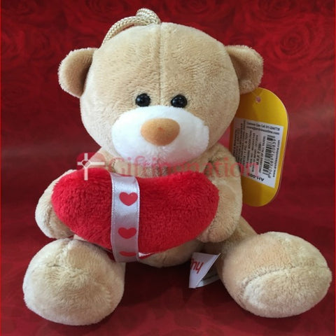 Huggable Teddy Bear Holding Heart - Giftingnation