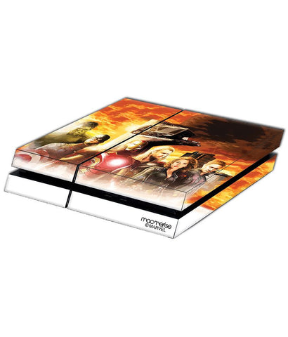 Avengers Entourage Skin for Sony PS4 - Giftingnation