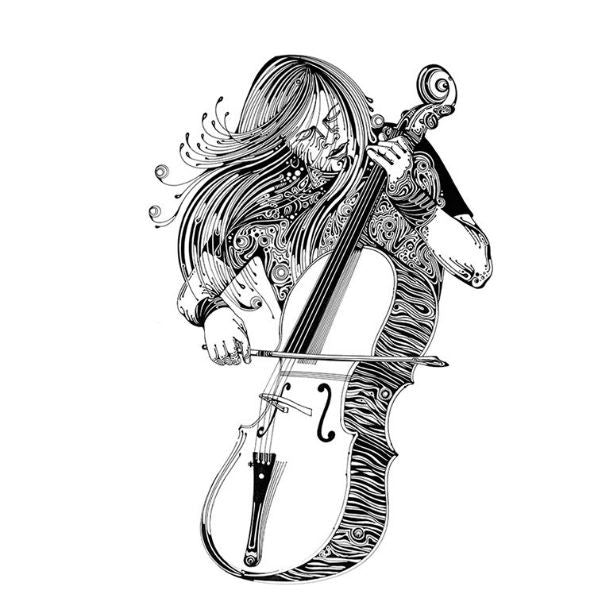 Amazing-Violinists Art Print