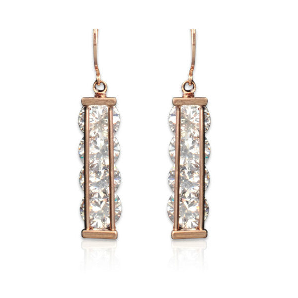 Dangling Crystals Earrings - Giftingnation - 1