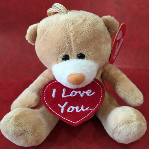 Huggable I Love You Teddy Bear - Giftingnation