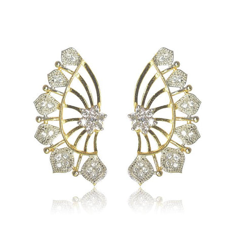Classy CZ Studded Earrings - Giftingnation - 1