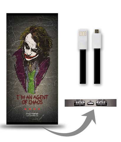 Agent of Chaos 8000 mAh Universal Power Bank - Giftingnation