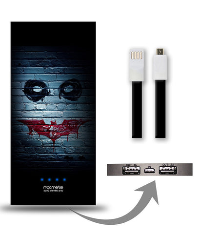 Bat Joker Grafitti 8000 mAh Universal Power Bank - Giftingnation