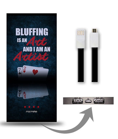 Art of Bluffing 8000 mAh Universal Power Bank - Giftingnation