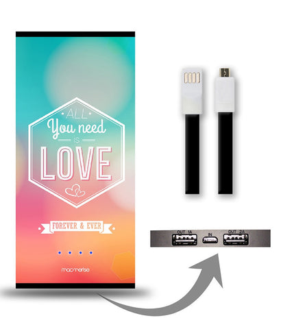All You Need is Love 8000 mAh Universal Power Bank