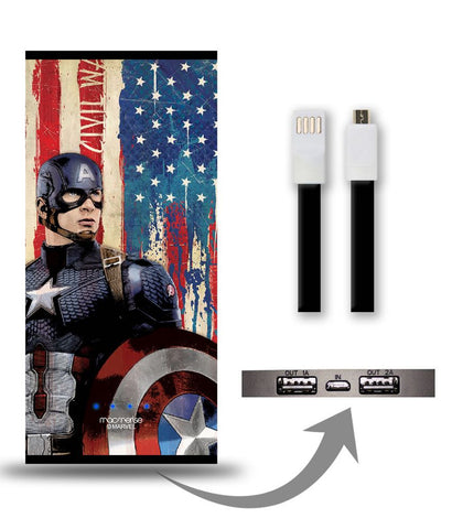 American Captain 8000 mAh Universal Power Bank - Giftingnation