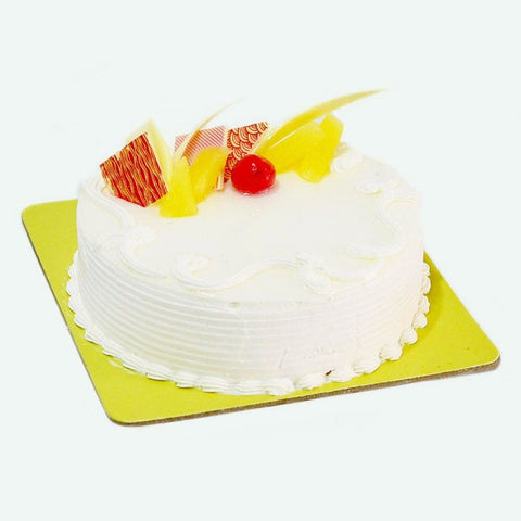 Delicious Pineapple Flavor Fresh Cream Cake