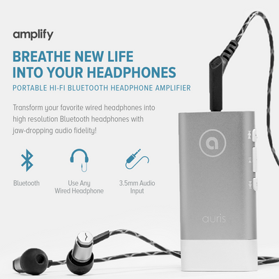 amplify Hi-Fi Wireless Headphone Amplifier