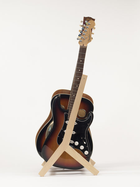 multi guitar stand made of birch by rafter stands. Black Bedroom Furniture Sets. Home Design Ideas
