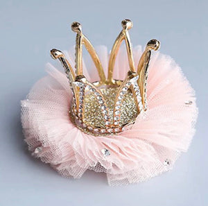 Crystal Queen Crown Clip - Nana Belle