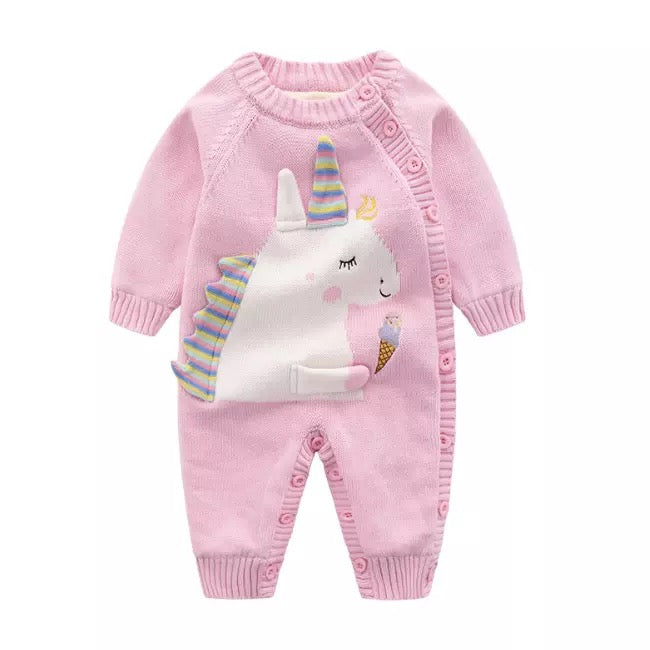 Unicorn Baby Snowsuit - Nana Belle
