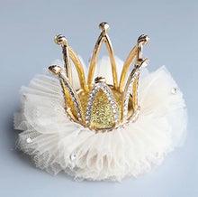 Load image into Gallery viewer, Crystal Queen Crown Clip - Nana Belle