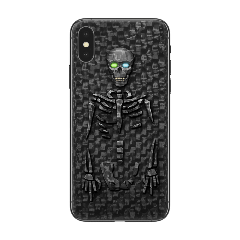 Hadoro iPhone Xs Gangsta Bony with-phone