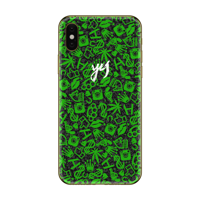 Hadoro iPhone Xs Green Frankly Yes