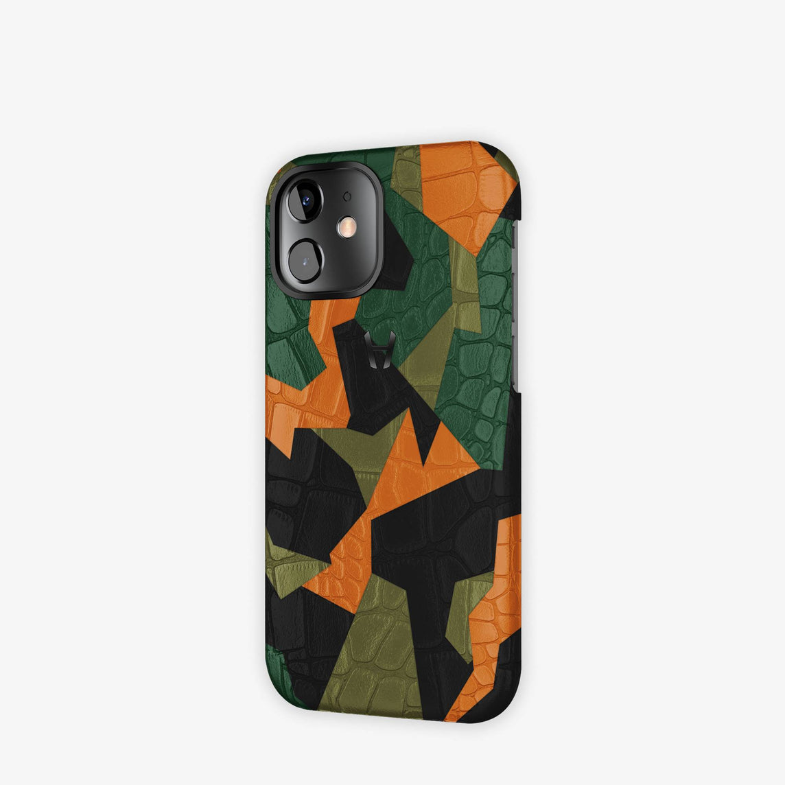 Alligator Camo Case iPhone 12 Mini | Green - Black