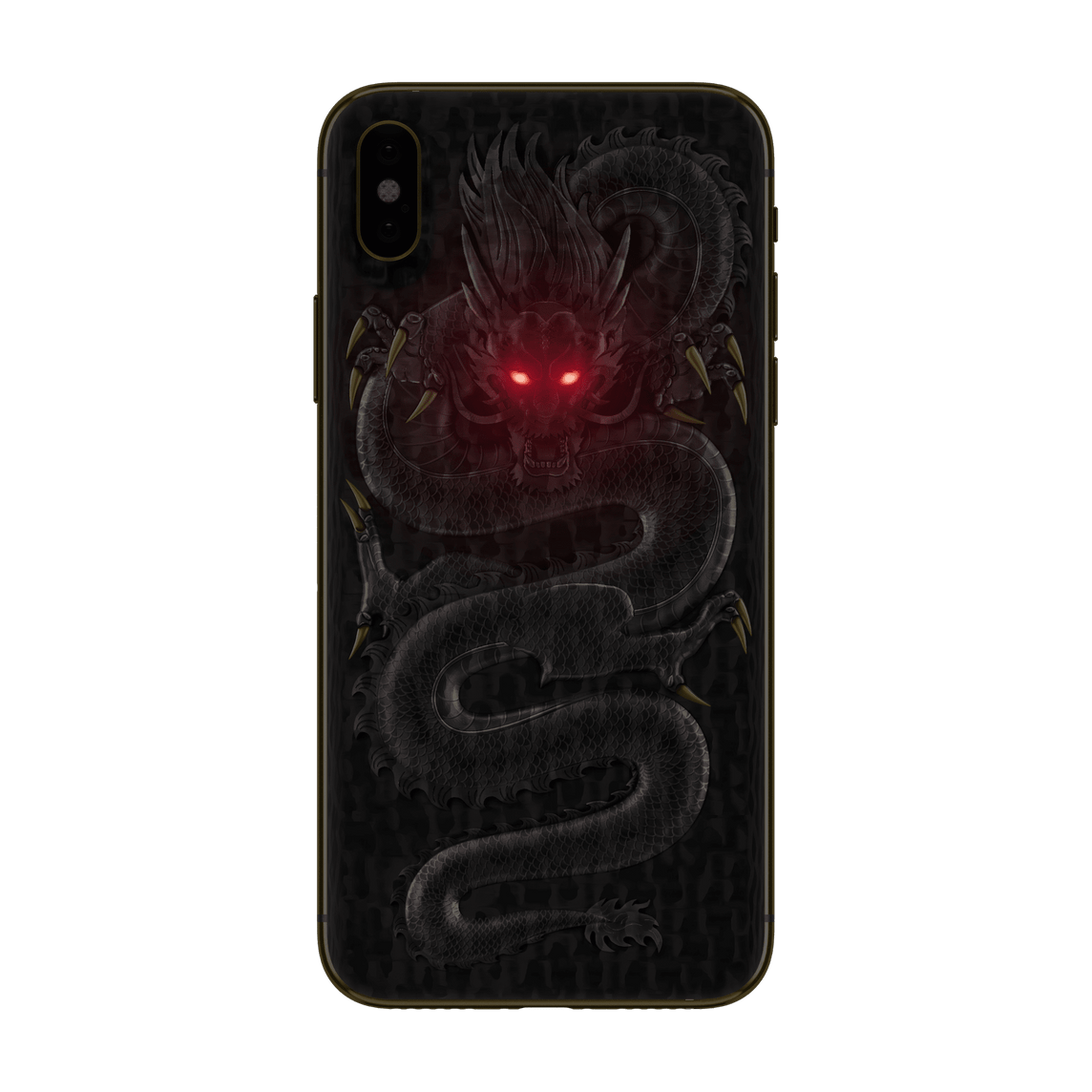 Hadoro iPhone Xs Max Emperor Dragon with-phone