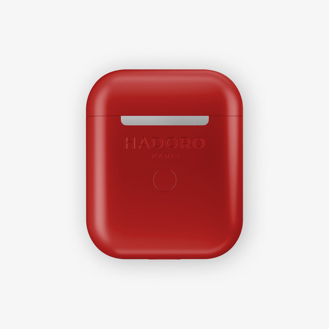 Hadoro AirPods Cherry with Wireless Charging Case | Red Lipstick - Stainless Steel
