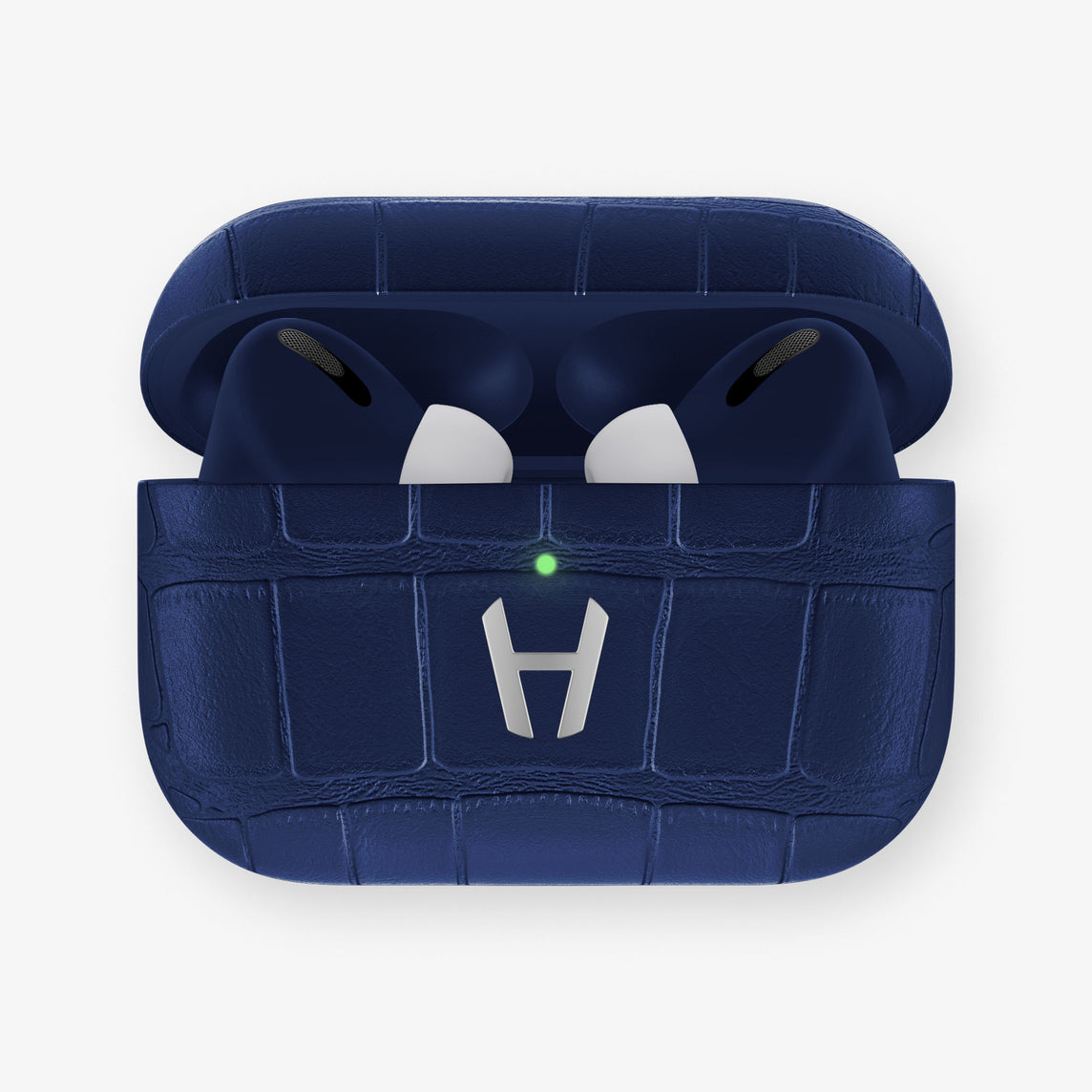 AirPods Pro Alligator AirPods Pro | Navy Blue - Stainless Steel