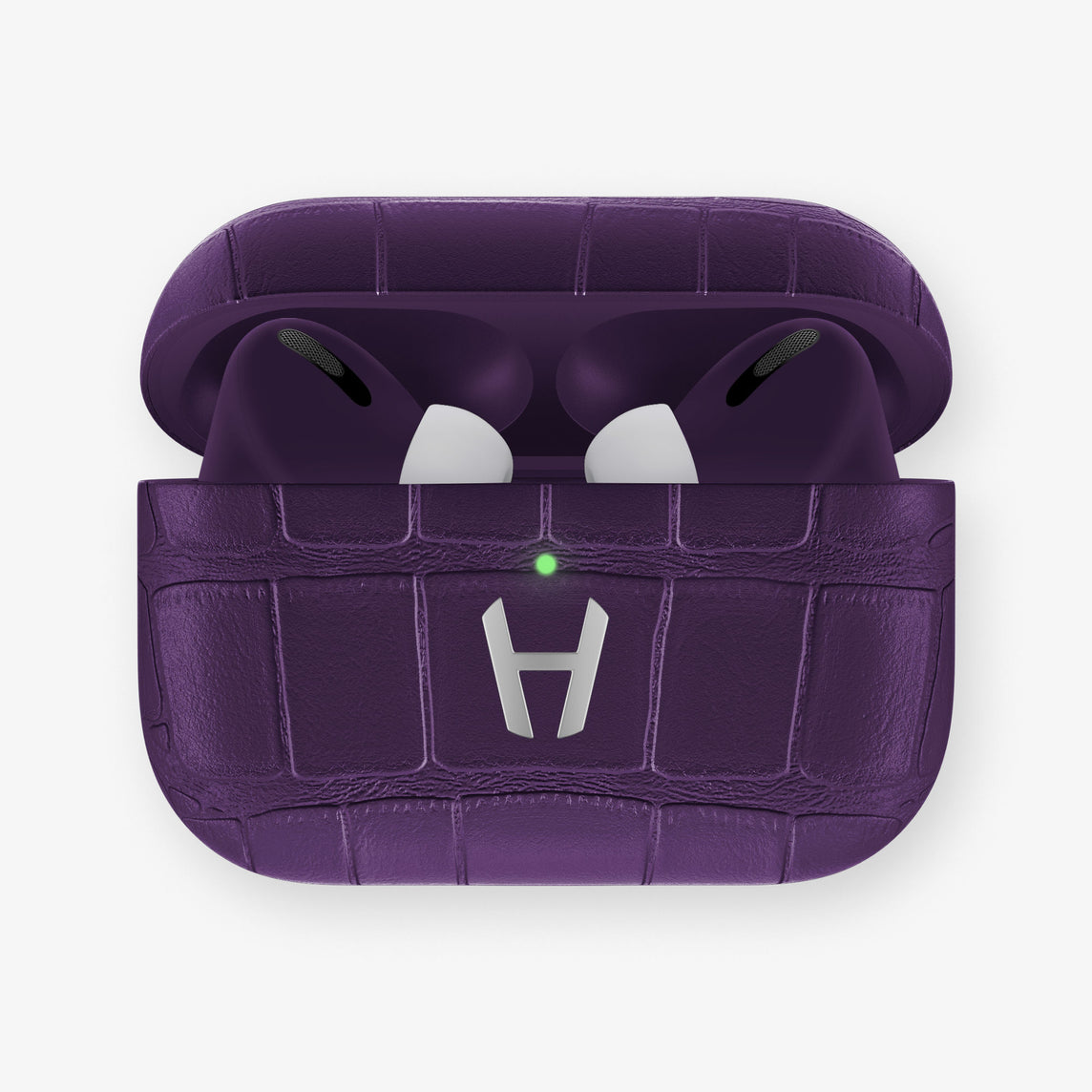 AirPods Pro Alligator AirPods Pro | Violet Purple - Stainless Steel
