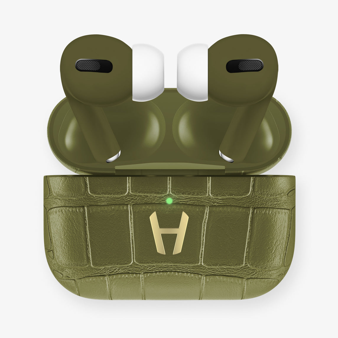 AirPods Pro Alligator AirPods Pro | Khaki - Yellow Gold
