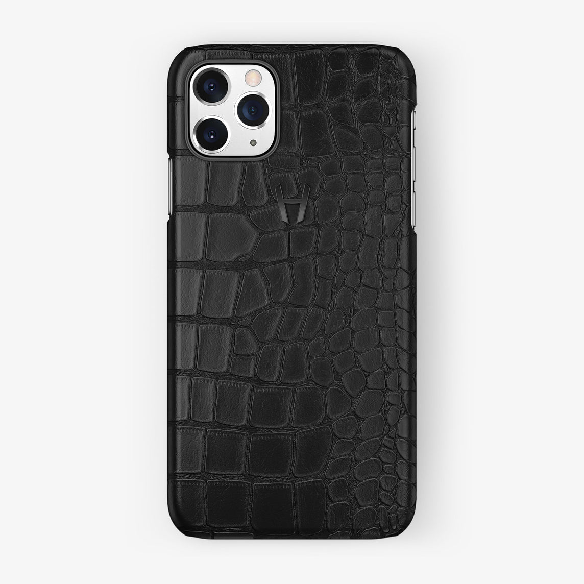 Alligator Case iPhone 11 Pro | Black - Black Steel