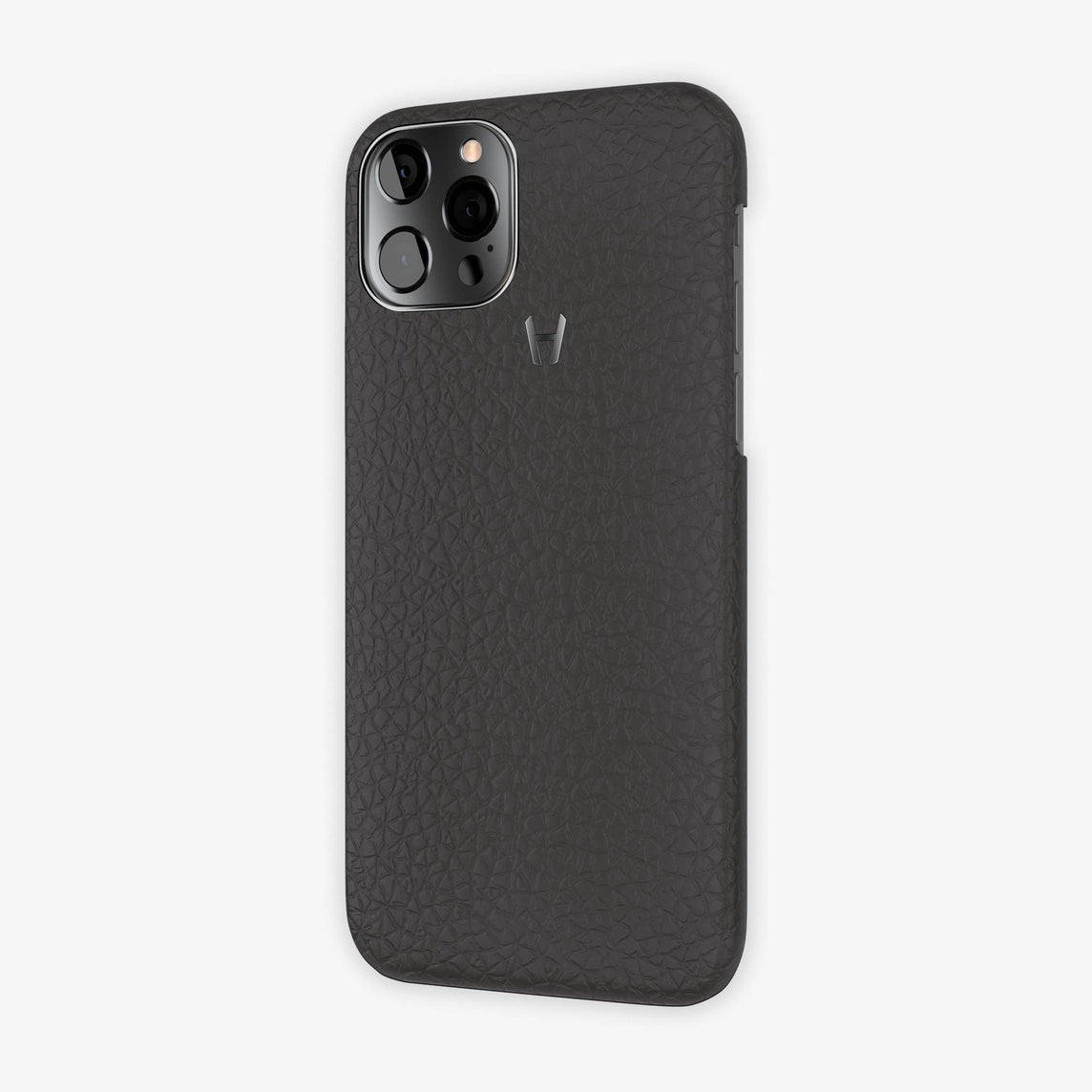 Calfskin Case Apple iPhone 12 Pro | Anthracite - Black