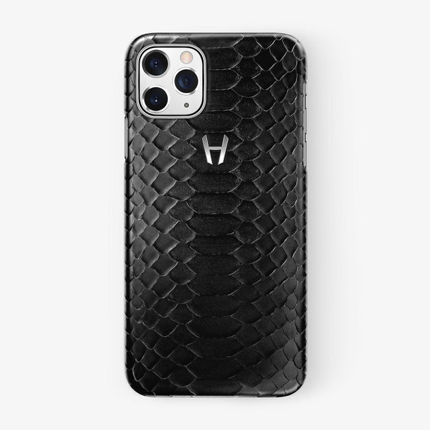 Python Case iPhone 11 Pro | Black - Stainless Steel