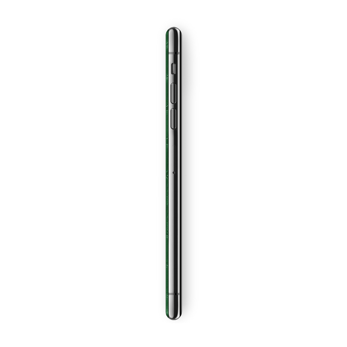 Hadoro iPhone 11 Pro Signature | Alligator - Stainless Steel - Green
