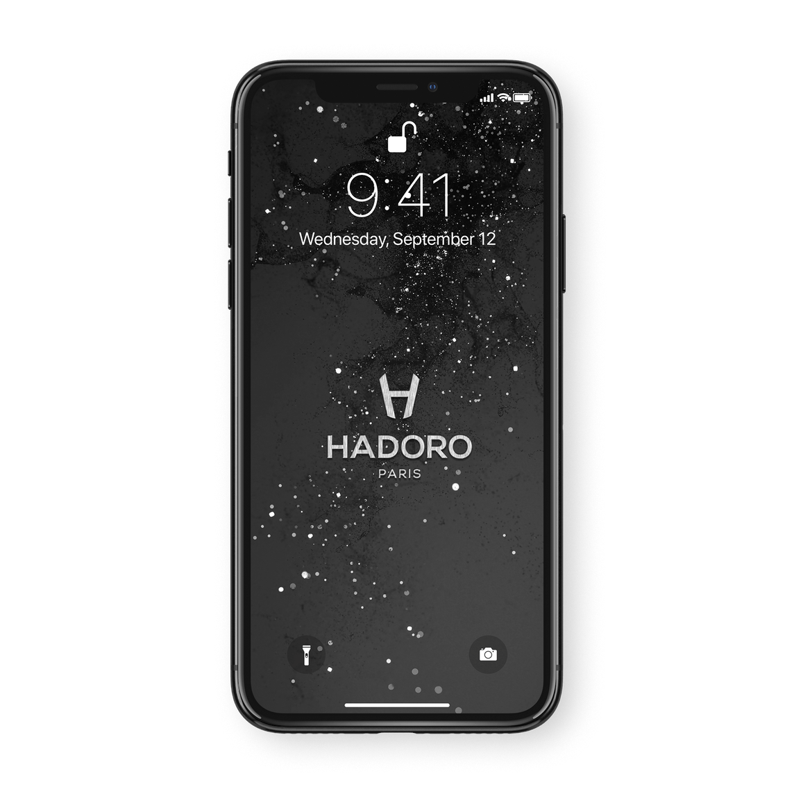 Hadoro iPhone 11 Pro Signature | Alligator - Black Steel - Red