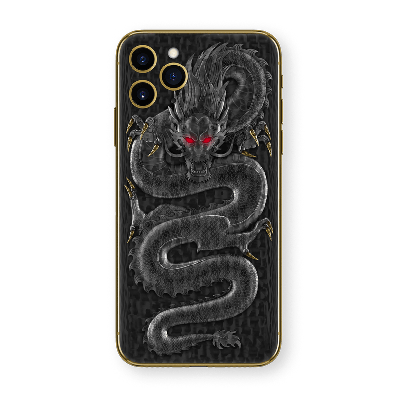 Hadoro iPhone 11 Pro Emperor Dragon | Yellow Gold