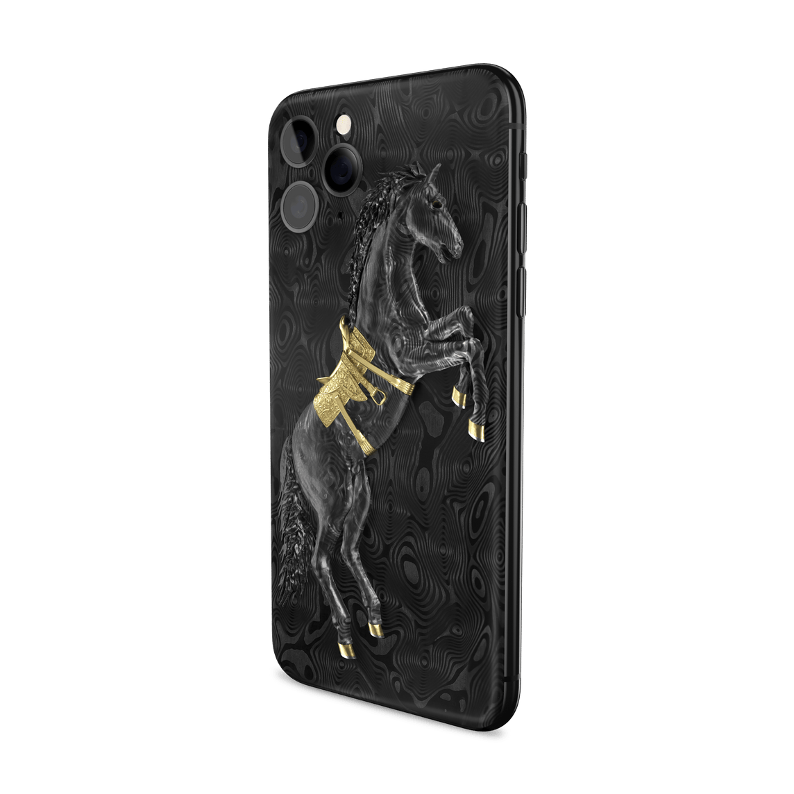 Hadoro iPhone 11 Pro Arabian Horse | Yellow Gold