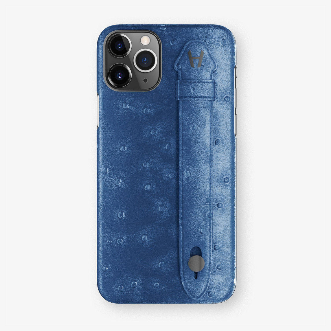 Ostrich Finger Case iPhone 11 Pro Max | Blue - Black